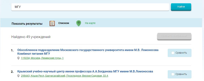 Зайдите на ресурс bus.gov.ru — это официальный сайт для размещения информации о государственных (муниципальных) организациях